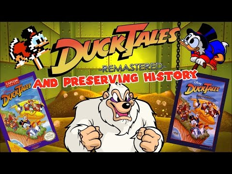 DUCKTALES REMASTERED and Preserving History - Lesmocon