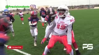 Team South Louisiana 12U vs. Team San Antonio Texas Youth Football All Star Showcase 2019