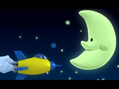 Мультфильм про луну и месяц
