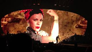 Baixar Pink - Equality message video - P!NK Beautiful Trauma Tour - Indianapolis March 17, 2018