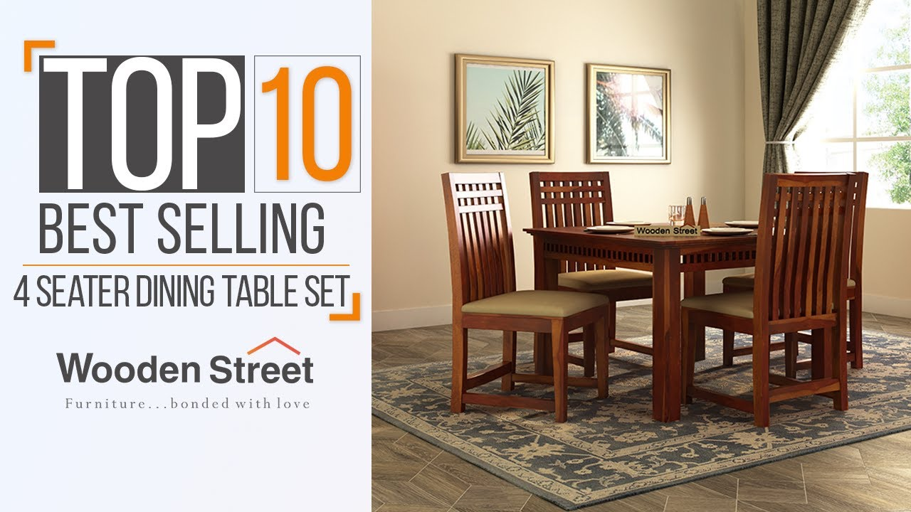 Dining Table Set Ideas 2020 Top 10 Best Selling Dining Table Set Designs By Wooden Street Youtube