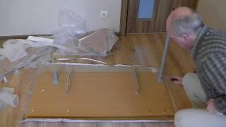 Как собрать компьютерный стол(Как собрать компьютерный стол Конструкция компьютерного стола Конструкция компьютерного стола описана..., 2015-12-13T19:55:24.000Z)