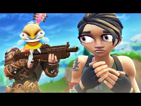 10 Minutes of Default NOOBS in Fortnite...