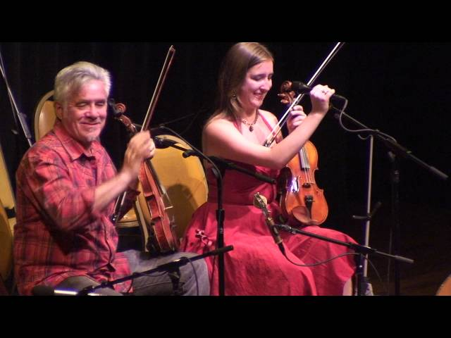 Rafe and Clelia Stefanini perform at Berkeley, California's Freight and Salvage
