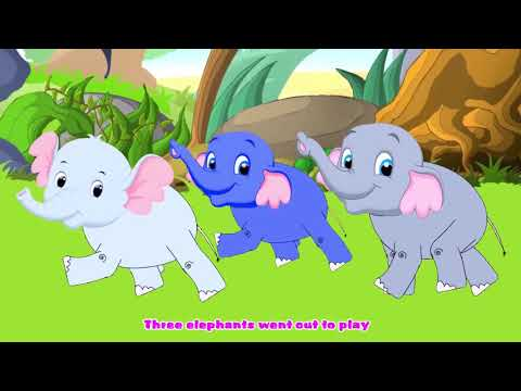 One Elephant Went Out To Play Kids Songs