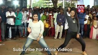 Tamil Girls Kuthu dance performance like a boss - Part 1