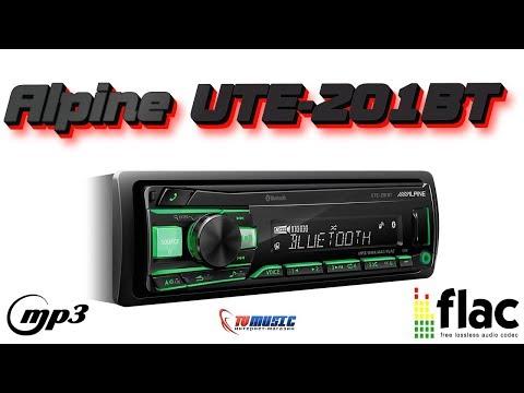 Автомагнитола Alpine UTE-201BT - обзор от интернет магазина TVMusic