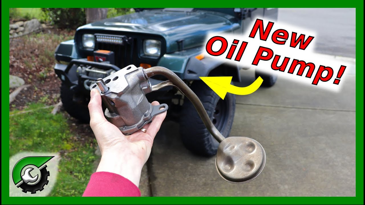 Jeep 4 0 Oil Pump Replacement - JeepForum com