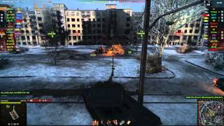 AMX 50B gameplay - Ace Tanker - World of Tanks - 9.9 XVM mod pack