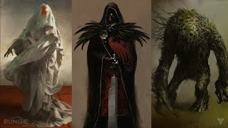 Destiny 2 The Shattered Suns 4 New Races /Species, Old Chicago Enemy Revealed