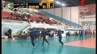 البطولة 34 للأندية العربية للرجال للكرة الطائرة : النجم الساحلي  أ.طرابلس الليبي