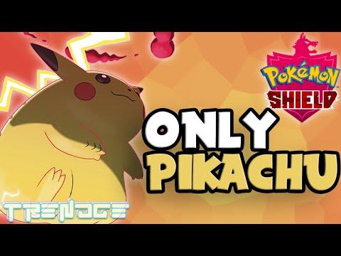 Can you beat Pokemon Shield only using Pikachu?