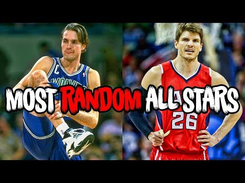 The 5 Most RANDOM All Stars in NBA History!