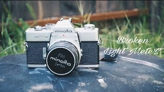 How to Shoot a Film Camera With a Broken Light Meter