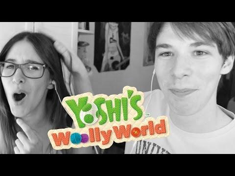 Yoshi CON MI HERMANA - JUEGAZO COOPERATIVO! - PARTE 1 (Yoshi Wooly World)
