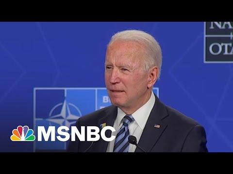 Biden: U.S. 'Will Respond If Russia Continues Its Harmful Activities'