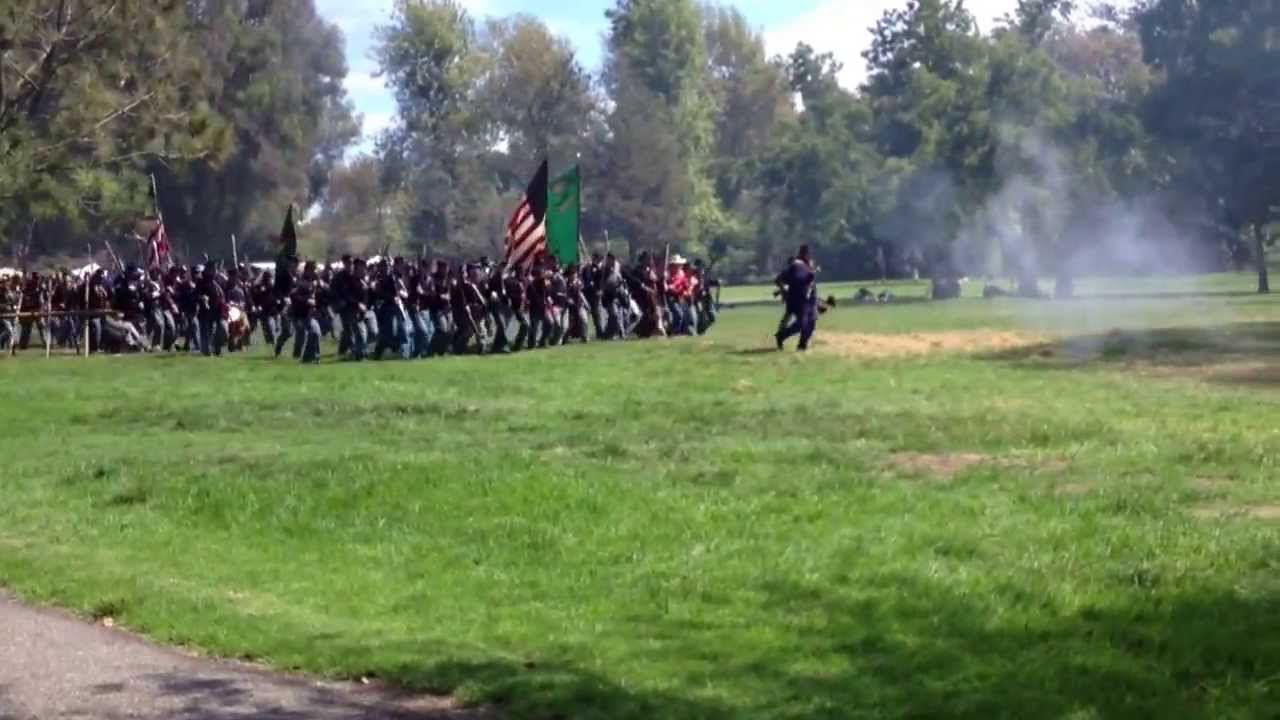 Civil War Reenactment Huntington Beach