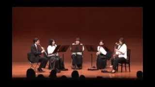 演奏者:アンサンブル・ベヴィトーレ(クラリネット五重奏) 演奏:第16...