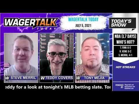 Free Sports Picks   MLB Picks   NBA Finals Betting Preview   WagerTalk Today   July 5