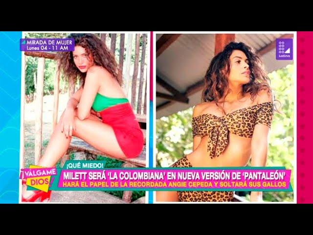 Milett Figueroa Será La Colombiana En Nueva Versión De Pantaleón