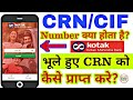 What Is CRN CIF Number How To Get CRN In Kotak Bank mp3