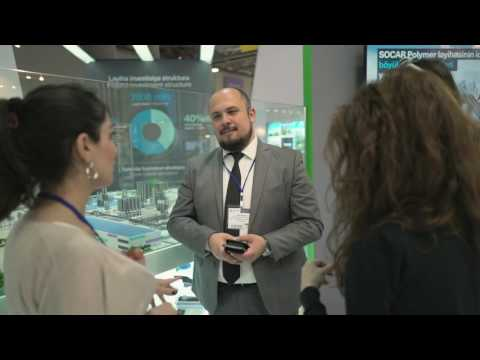 SOCAR Polymer stand at Caspian Oil and Gas Exhibition 2016