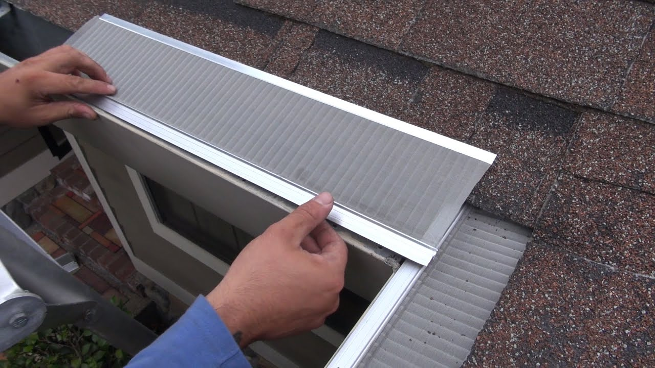 Home Depot Gutter Guard Youtube