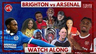 Brighton vs Arsenal | Watch Along Live