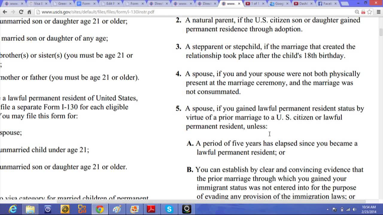 Who may not file this form i 130 the application for a green card who may not file this form i 130 the application for a green card falaconquin