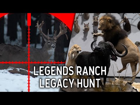 Trophy Buck Hunt Christmas Surprise   Legends Ranch