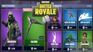 "FORTNITE ""SHOP"" 06/08 SKIN ARCHETIPO - HEART TRUE - ASCIA OF DRAGO"