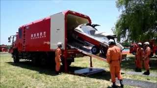 《東京消防庁》救出救助車へ水上バイク格納!!!6本部ハイパー