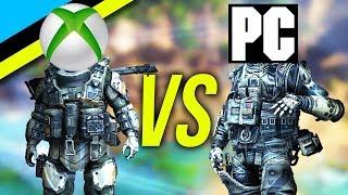 TITANFALL 2: CONSOLE VS PC - Can An Xbox Scrub Survive?