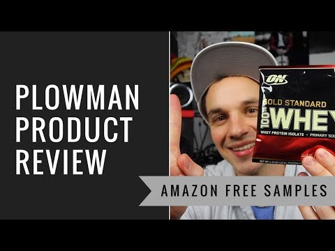 Free Product Samples on Amazon (Optimum Nutrition Sample Box)