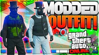 NEW MODDED OUTFIT USING GLITCHES (GTA 5 ONLINE) PS4