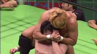 Pro Wrestling NOAH GHC Heavyweight Championship match - 2002.9.23 高山善廣VS三沢光晴 - 2002年9月23日.