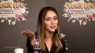 alycia debnam carey panel q a day 1 comic con copenhagen