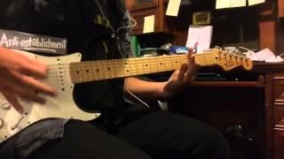 Blink-182 - Man Overboard (Guitar Cover)