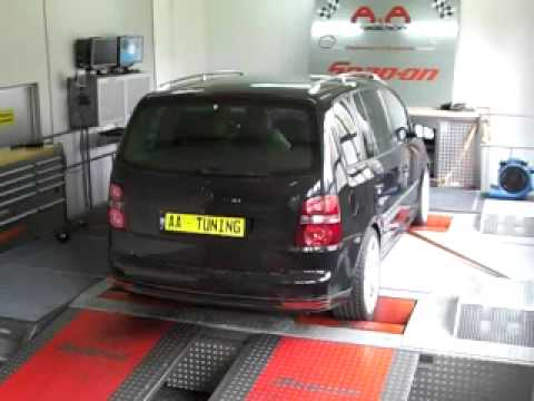 vw touran 2 0 tdi 125kw nach tuning bei a a. Black Bedroom Furniture Sets. Home Design Ideas
