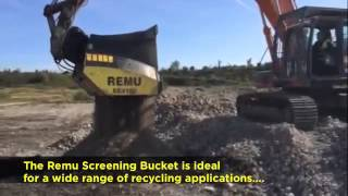 Remu Screening Bucket