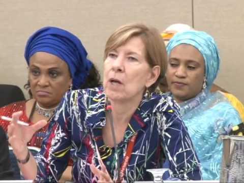 The President Wife Mrs. Aisha Buhari On TB  At The UNGA .