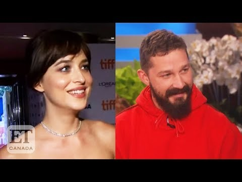 Shia LaBeouf Says Dakota Johnson Was His Best Onscreen Kiss ...