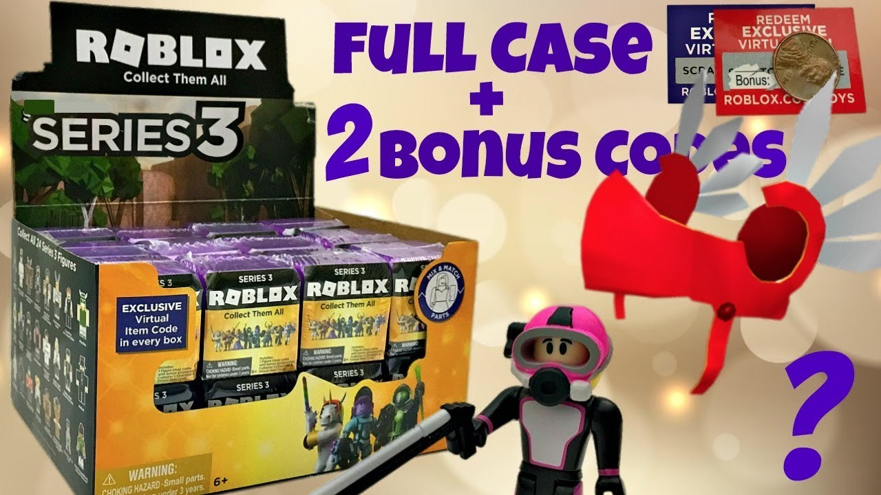 Roblox Celebrity Series 3 Purple Mystery Boxes Amp Code I