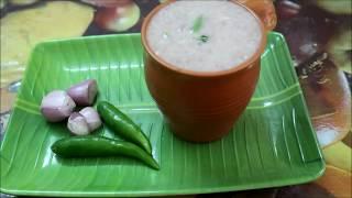 Aadi special Ragi koozh | Instant finger millet porridge