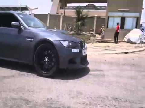 Bmw M3 E92 DRIFT in GHANA