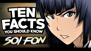 10 Facts About Soi Fon You Probably Should Know! | Bleach