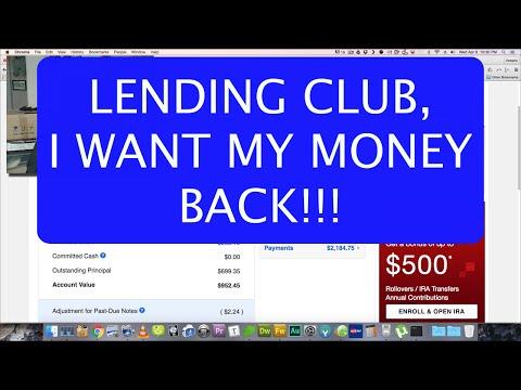 Lending Club - I Want My Money Back!