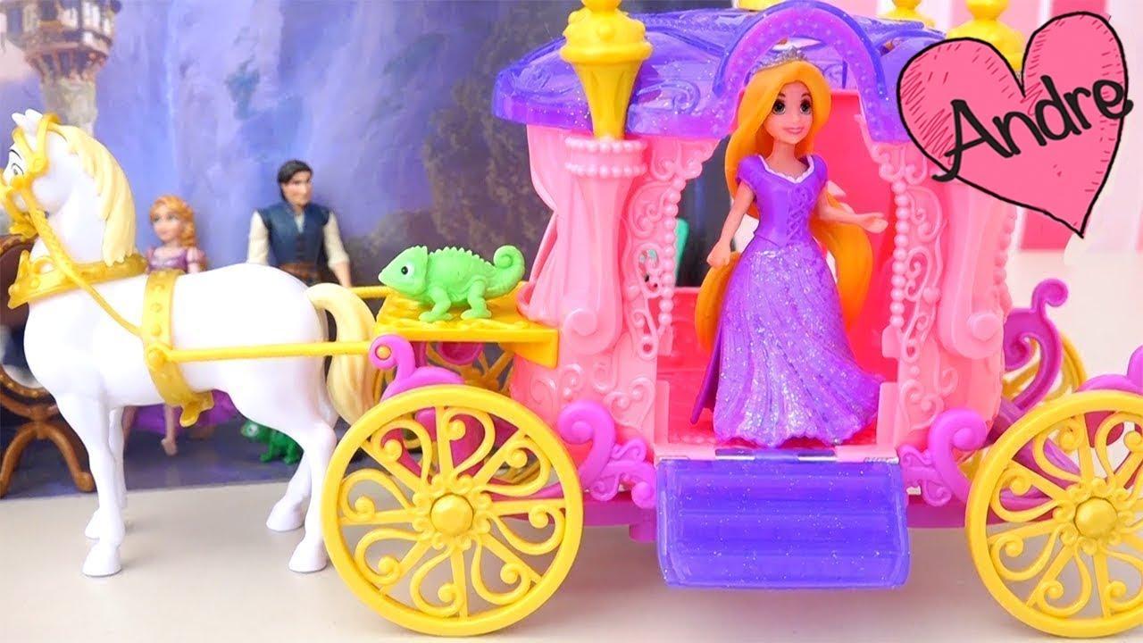 Ladrones tratan de robar el cabello de Rapunzel | Muñecas y juguetes ...