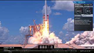SpaceX Launch & Landing - CRS-12 Resupply mission to the ISS