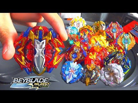 BREAKER XCALIUS X4 VS ALL XCALIBUR XCALIUS BEYBLADE BURST TURBO MARATHON